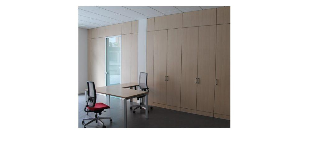 parete attrezzata mobile ufficio